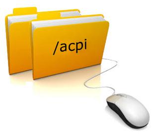 Подкаталог /proc/acpi