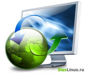 Настройка Интернета в Slax Linux